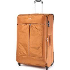 Duża Materiałowa Walizka PUCCINI - EM 50370 A  Orange 9. Brązowe walizki marki Puccini, z materiału, duże. W wyprzedaży za 249,00 zł.