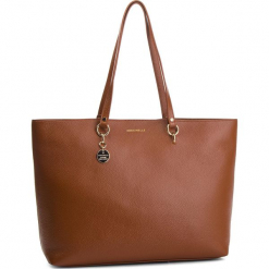 Torebka COCCINELLE -  DS5 Alpha E1 DS5 11 02 01 Brule W74. Brązowe torebki klasyczne damskie marki Coccinelle, ze skóry, bez dodatków. Za 1249,90 zł.