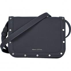 """Torebka """"Eleonor"""" w kolorze czarnym - 22,5 x 16,5 x 10 cm. Czarne torebki klasyczne damskie Marc O'Polo, w paski, z materiału. W wyprzedaży za 272,95 zł."""