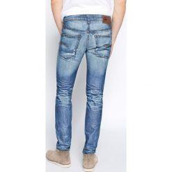 G-Star Raw - Jeansy 3301 Slim. Niebieskie jeansy męskie slim marki G-Star RAW. W wyprzedaży za 119,90 zł.