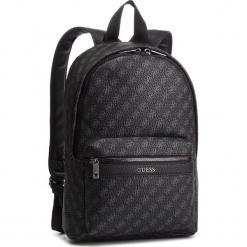 Plecak GUESS - HM6607 POL91 BLA. Czarne plecaki męskie Guess, z aplikacjami, ze skóry ekologicznej. Za 629,00 zł.