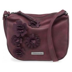 Tamaris Torebka Damska Burgund Camira. Czerwone torebki klasyczne damskie Tamaris, z aplikacjami, z aplikacjami. Za 229,00 zł.