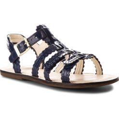 Sandały dziewczęce: Sandały CLARKS – Loni Moon 261321056 Blue Patent Leather