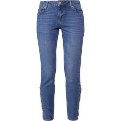 Boyfriendy damskie: 2nd Day SALLY CROPPED PICAROON  Jeans Skinny Fit indigo stone enzyme