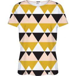 Colour Pleasure Koszulka damska CP-030 21 czarno-żółta r. XL/XXL. Czarne bluzki damskie marki Colour pleasure, xl. Za 70,35 zł.