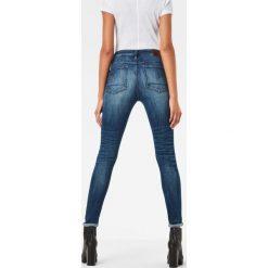 G-Star Raw - Jeansy. Niebieskie jeansy damskie rurki marki G-Star RAW. W wyprzedaży za 379,90 zł.