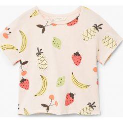 Bluzki dziewczęce: Mango Kids – Top dziecięcy Bigf 110-164 cm