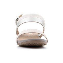 Sandały Geox  D Formosa C D7293C-0SKNF-C1007. Szare sandały damskie marki Geox, z gumy. Za 259,80 zł.