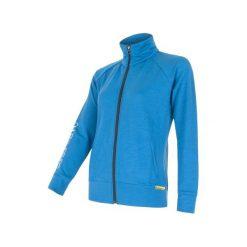 Sensor Bluza Merino Wool 330 W Blue L. Niebieskie bluzy rozpinane damskie marki Sensor, l. W wyprzedaży za 249,00 zł.