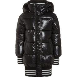 Kurtki chłopięce przeciwdeszczowe: Sisley Płaszcz zimowy black