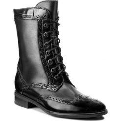 Botki GINO ROSSI - Miwa DTH533-S95-0178-9999-F 99/99. Czarne buty zimowe damskie marki Gino Rossi, z polaru, na obcasie. W wyprzedaży za 299,00 zł.