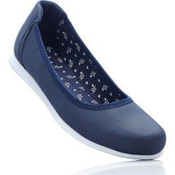 Baleriny damskie: Baleriny bonprix niebieski dżins