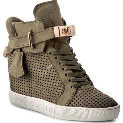 Sneakersy CARINII - B3767/M H08-000-000-B88. Zielone sneakersy damskie Carinii, z materiału. W wyprzedaży za 299,00 zł.