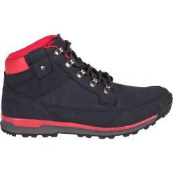 Buty trekkingowe męskie: IGUANA Buty męskie Severo MID navy/red r. 46