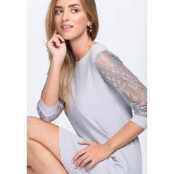 Sukienki: Szara Sukienka Nicest Place