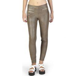 Guess Legginsy Damskie L Brązowy. Brązowe legginsy marki Guess, l, z aplikacjami, z jeansu. W wyprzedaży za 459,00 zł.