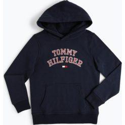 Bluzy chłopięce: Tommy Hilfiger - Chłopięca bluza nierozpinana, niebieski