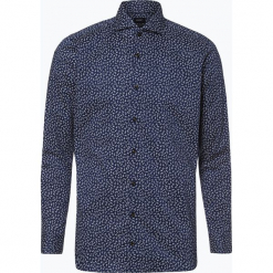 Joop - Koszula męska łatwa w prasowaniu – Pajos, niebieski. Szare koszule męskie na spinki marki JOOP!, z bawełny, z klasycznym kołnierzykiem, z długim rękawem. Za 349,95 zł.