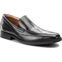 Półbuty CLARKS - Tilden Free 261103127 Black Leather. Czarne derby męskie Clarks, z materiału. Za 319,00 zł.
