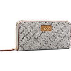Duży Portfel Damski NOBO - NPUR-F0080-C000 Biały. Białe portfele damskie Nobo, ze skóry ekologicznej. W wyprzedaży za 99,00 zł.
