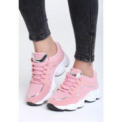 Różowe Buty Sportowe Stretch. Czerwone buty sportowe damskie marki Born2be, z materiału. Za 89,99 zł.