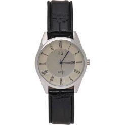 ZEGAREK NA RĘKĘ CZARNY. Czarne zegarki męskie Top Secret. Za 59,99 zł.