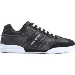 Czarne Buty Sportowe Never Said. Czarne buty skate męskie Born2be, z materiału, na sznurówki. Za 89,99 zł.