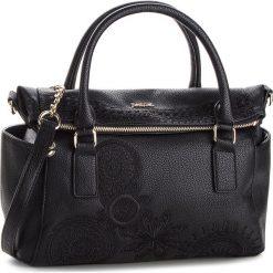 Torebka DESIGUAL - 18WAXPAB 2000. Czarne torebki klasyczne damskie marki Desigual, ze skóry ekologicznej. Za 299,90 zł.