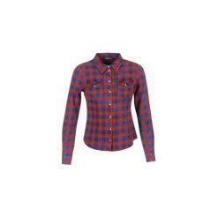 Koszule Only  ROCK IT CHECK. Szare koszule nocne i halki marki ONLY, s, z bawełny, z okrągłym kołnierzem. Za 135,20 zł.