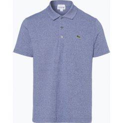 Lacoste - Męska koszulka polo, niebieski. Niebieskie koszulki polo Lacoste, l, ze skóry. Za 249,95 zł.