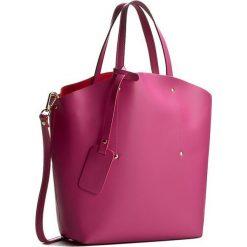 Torebka CREOLE - K10233 Ciemny Róż. Czerwone torebki klasyczne damskie Creole, ze skóry. W wyprzedaży za 219,00 zł.