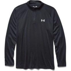 Under Armour Koszulka męska 1/4 Zip M Czarna r. M (1242220-003*M). Szare koszulki sportowe męskie marki Under Armour, z elastanu, sportowe. Za 149,00 zł.
