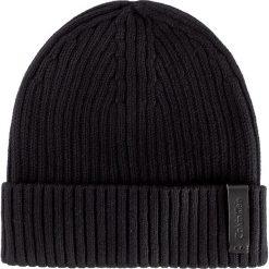 Czapka CALVIN KLEIN - Octave Hat K50K501334 001. Czarne czapki damskie marki Calvin Klein, z bawełny. W wyprzedaży za 159,00 zł.