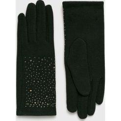 Morgan - Rękawiczki. Czerwone rękawiczki damskie Morgan, z bawełny. W wyprzedaży za 69,90 zł.