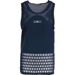 Topy sportowe damskie: adidas by Stella McCartney TRAIN HIIT Top blue