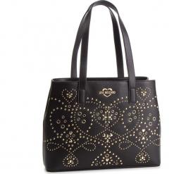 Torebka LOVE MOSCHINO - JC4124PP17LR000A Nero/Galv.Oro. Czarne torebki klasyczne damskie Love Moschino, ze skóry. Za 959,00 zł.