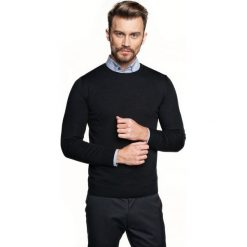Sweter vetica półgolf czarny. Czarne swetry klasyczne męskie Recman, m, z golfem. Za 149,00 zł.