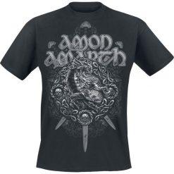 Amon Amarth Ragnarok T-Shirt czarny. Czarne t-shirty męskie z nadrukiem Amon Amarth, m, z dekoltem na plecach. Za 74,90 zł.