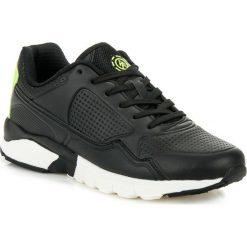 Buty sportowe męskie: Czarne obuwie sportowe ABBY