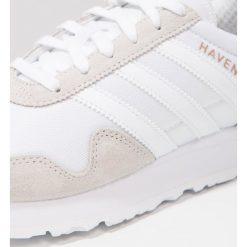 Adidas Originals HAVEN Tenisówki i Trampki footwear white. Białe tenisówki damskie marki adidas Originals, z materiału. W wyprzedaży za 258,30 zł.