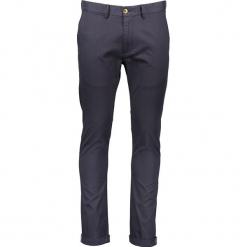 Spodnie chino - Skinny fit - w kolorze granatowym. Niebieskie chinosy męskie marki Ben Sherman, w paski, z materiału. W wyprzedaży za 173,95 zł.