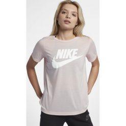 Koszulka Nike Wmns Essential Top Short-sleeve (829747-699). Szare bluzki damskie Nike, z materiału. Za 89,99 zł.