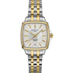 PROMOCJA ZEGAREK CERTINA DS PRIME LADY SHAPE C028.310.22.116.00. Białe zegarki damskie CERTINA, ze stali. W wyprzedaży za 2283,60 zł.