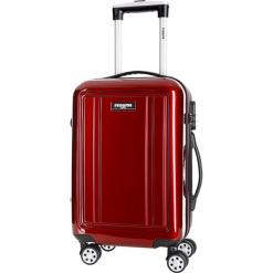 Walizka w kolorze bordowym - 50 l. Czerwone walizki Bagstone & Travel One, z materiału. W wyprzedaży za 219,95 zł.