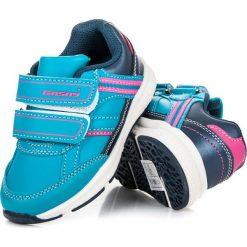 Buciki sportowe dla dziewczynki LEIA. Niebieskie buty sportowe dziewczęce marki HASBY. Za 79,00 zł.