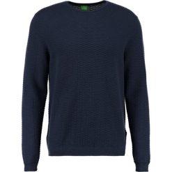 Swetry klasyczne męskie: BOSS Green RATER Sweter dark blue/blue