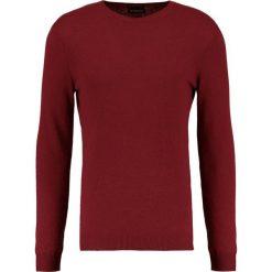 Swetry klasyczne męskie: Sisley Sweter bordeaux