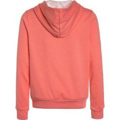 Bench RAINBOW CORP HOODY Bluza z kapturem light pink. Czerwone bluzy dziewczęce rozpinane Bench, z bawełny, z kapturem. Za 169,00 zł.
