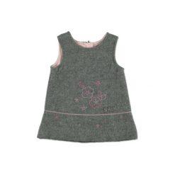 Sukienki niemowlęce: BOBOLI Girls Sukienka grey melange