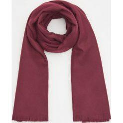 Gładki szalik - Bordowy. Czerwone szaliki damskie marki B'TWIN, na zimę, z elastanu. Za 59,99 zł.